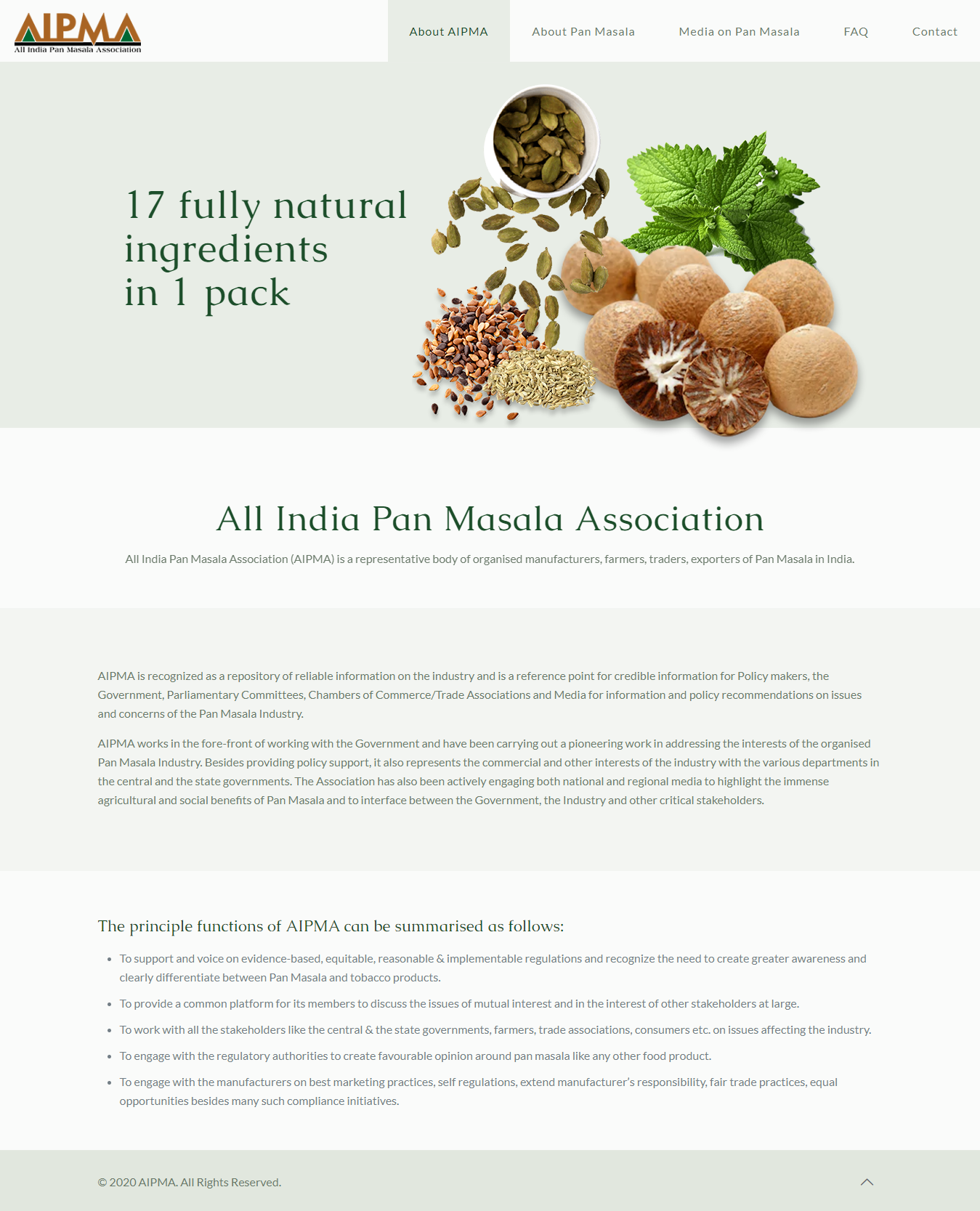 All India Pan Masala Association